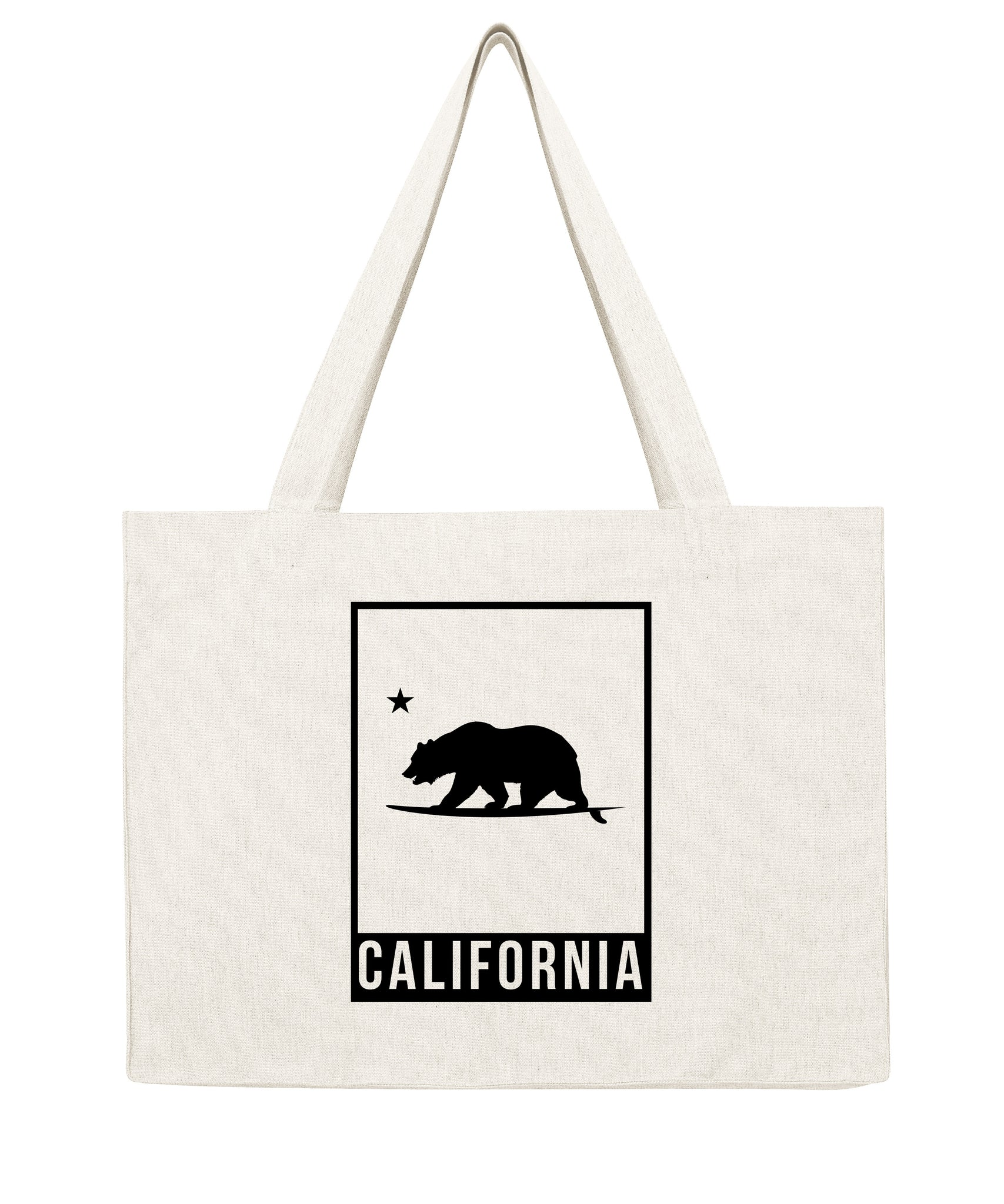 California Bear cadre - Shopping bag-Sacs-Atelier Amelot