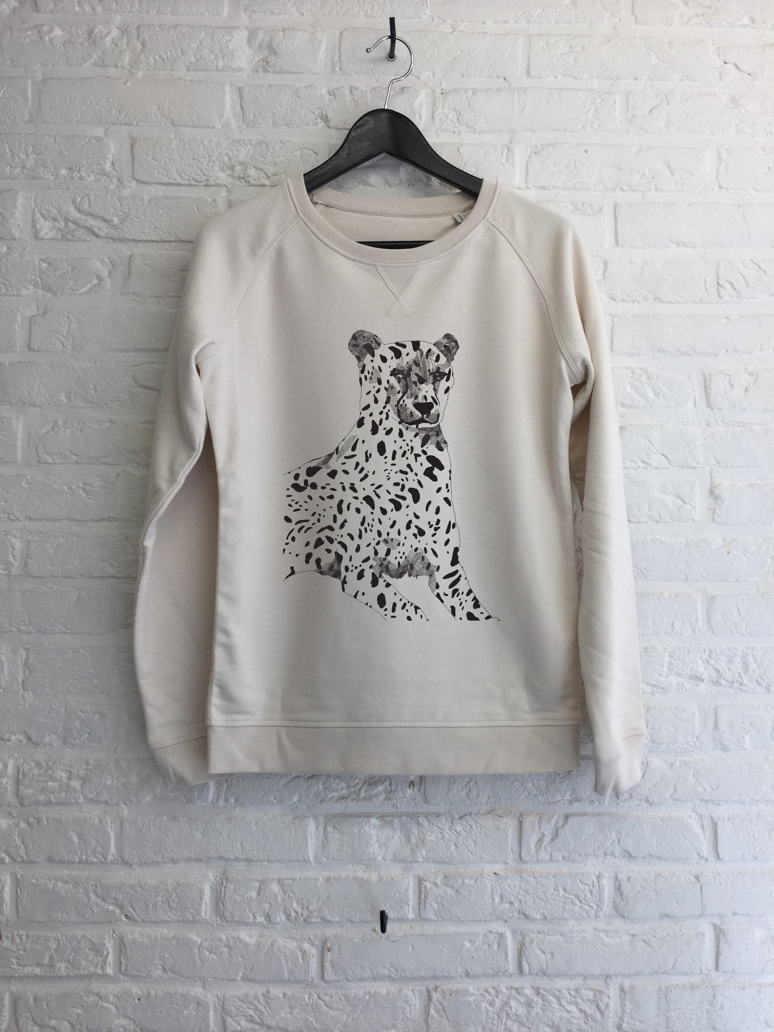 TH Gallery - Guepard - Sweat - Femme-Sweat shirts-Atelier Amelot