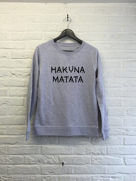 Hakuna Matata - Sweat - Femme-Sweat shirts-Atelier Amelot