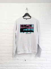 Hawaii 4 Palmiers Sweat-Sweat shirts-Atelier Amelot
