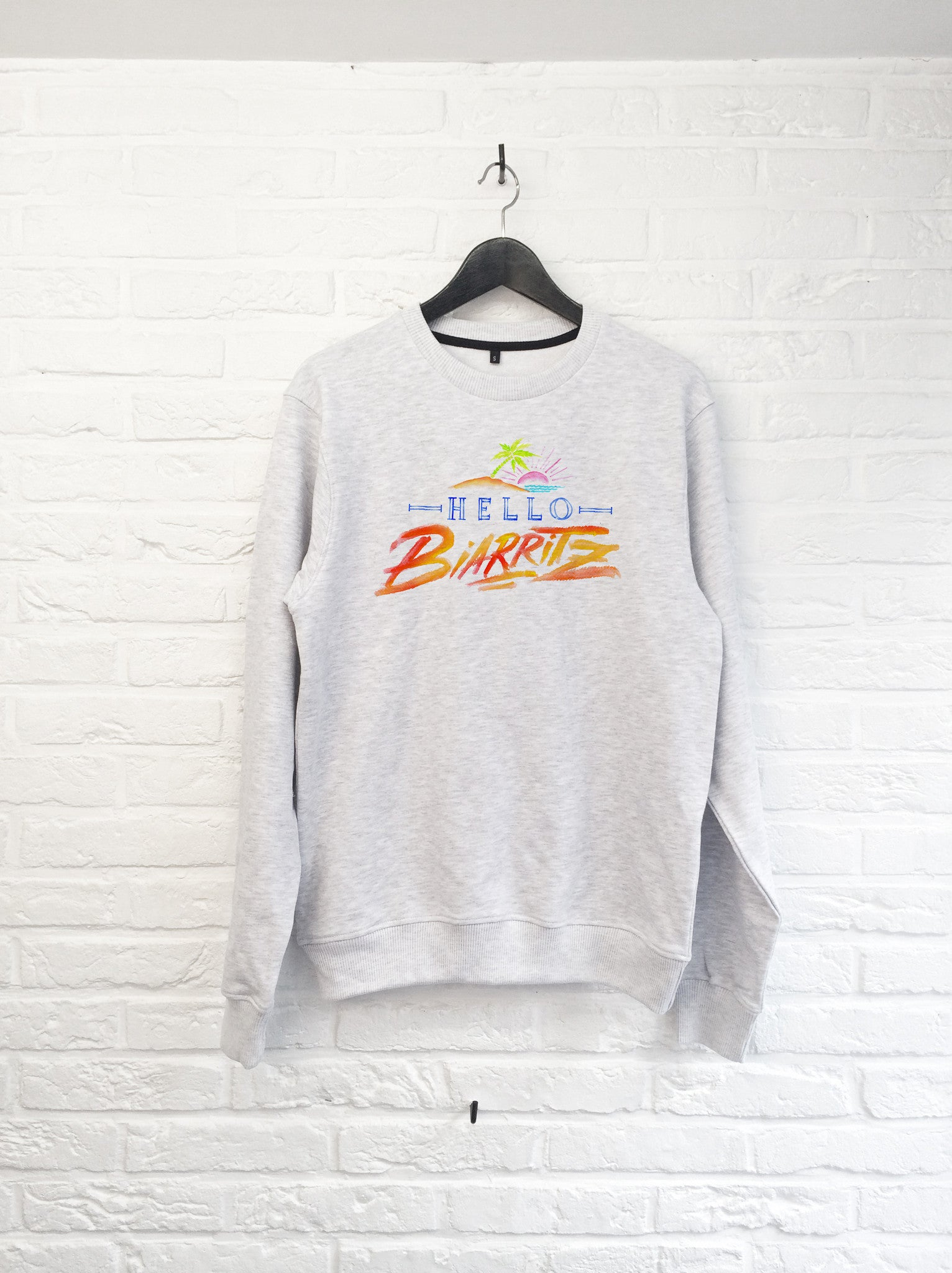 TH Gallery - Hello Biarritz - Sweat-Sweat shirts-Atelier Amelot