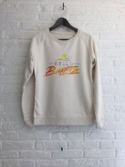 TH Gallery - Hello Biarritz - Sweat - Femme-Sweat shirts-Atelier Amelot