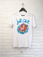 TH Gallery - Just chill Hippo-T shirt-Atelier Amelot