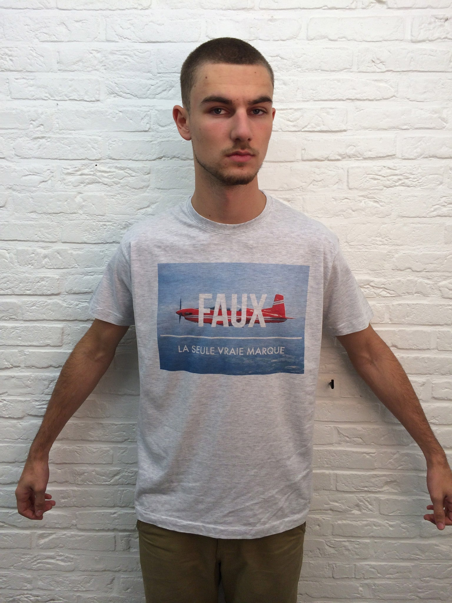 FAUX Avion-T shirt-Atelier Amelot