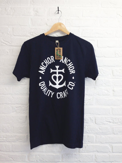 TH Gallery - Anchor Anchor navy-T shirt-Atelier Amelot