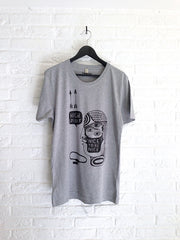TH Gallery - High spirit (gris)-T shirt-Atelier Amelot
