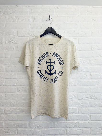 TH Gallery - Anchor Anchor speckled-T shirt-Atelier Amelot