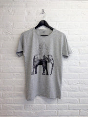 TH Gallery - Elephant speckled gris-T shirt-Atelier Amelot