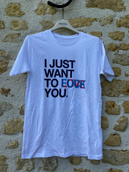 T shirt LOVE FUCK