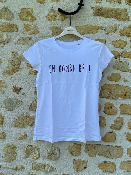 T shirt en bombe bb