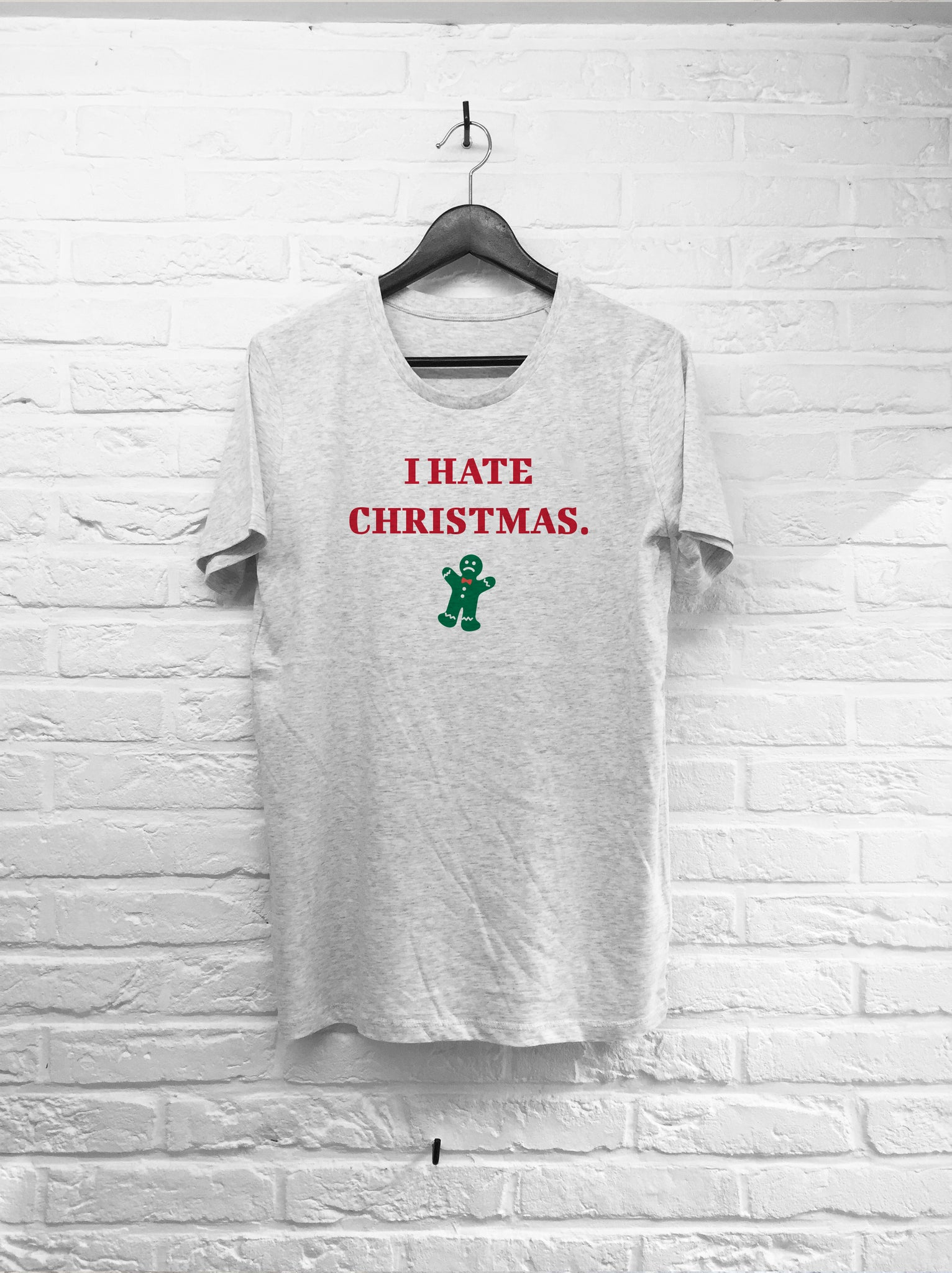 I hate Christmas-T shirt-Atelier Amelot