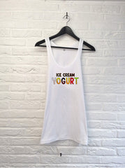 Ice cream yogurt - Débardeur-T shirt-Atelier Amelot