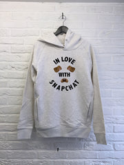 In love with Snapchat - Hoodies Deluxe-Sweat shirts-Atelier Amelot