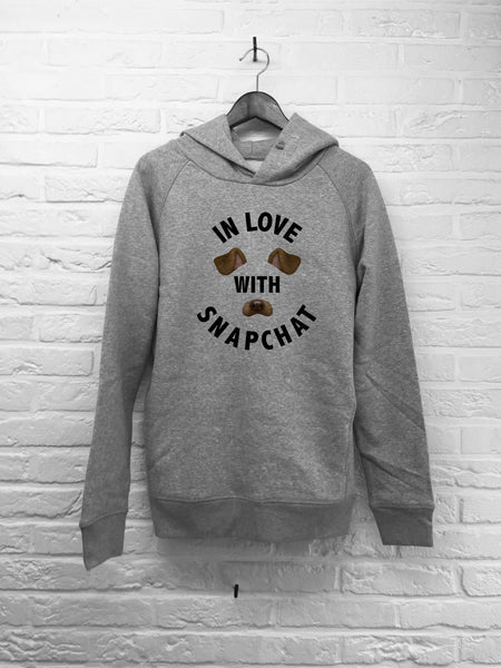 In love with Snapchat - Hoodies Deluxe