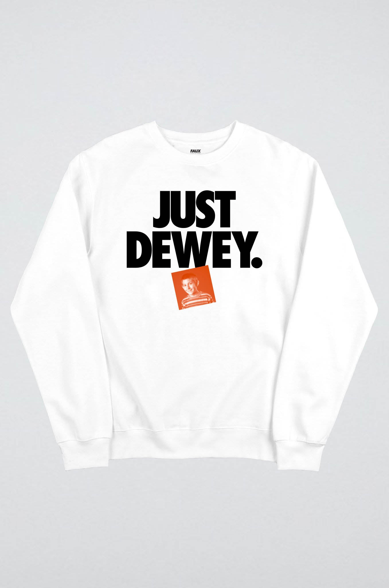 Just Dewey orange