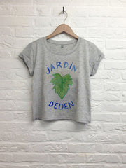 TH Gallery - Jardin d'Eden - Crop top speckled gris-T shirt-Atelier Amelot