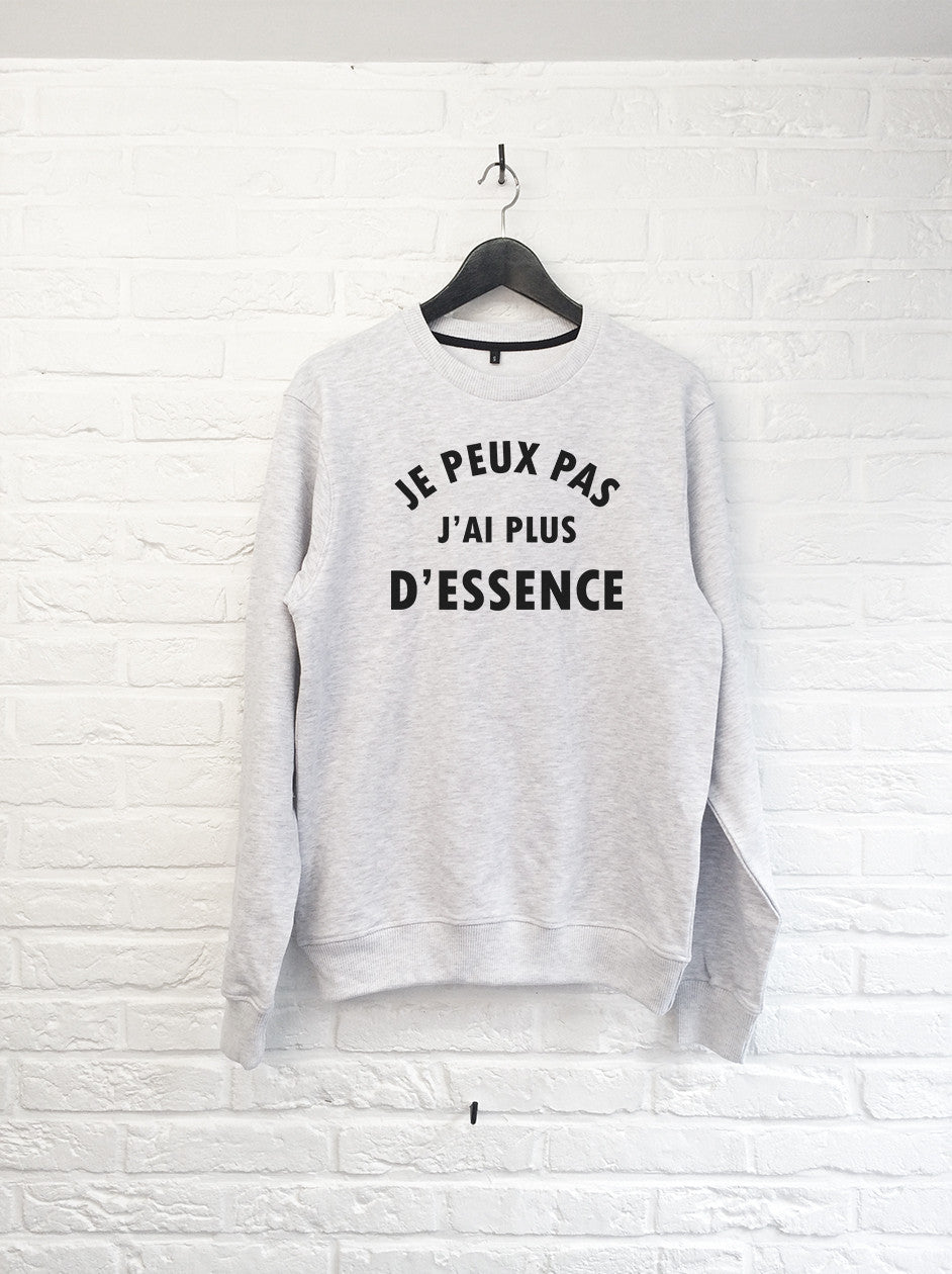 Je peux pas j'ai plus d'essence - Sweat-Sweat shirts-Atelier Amelot