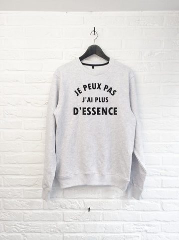 Je peux pas j'ai plus d'essence - Sweat