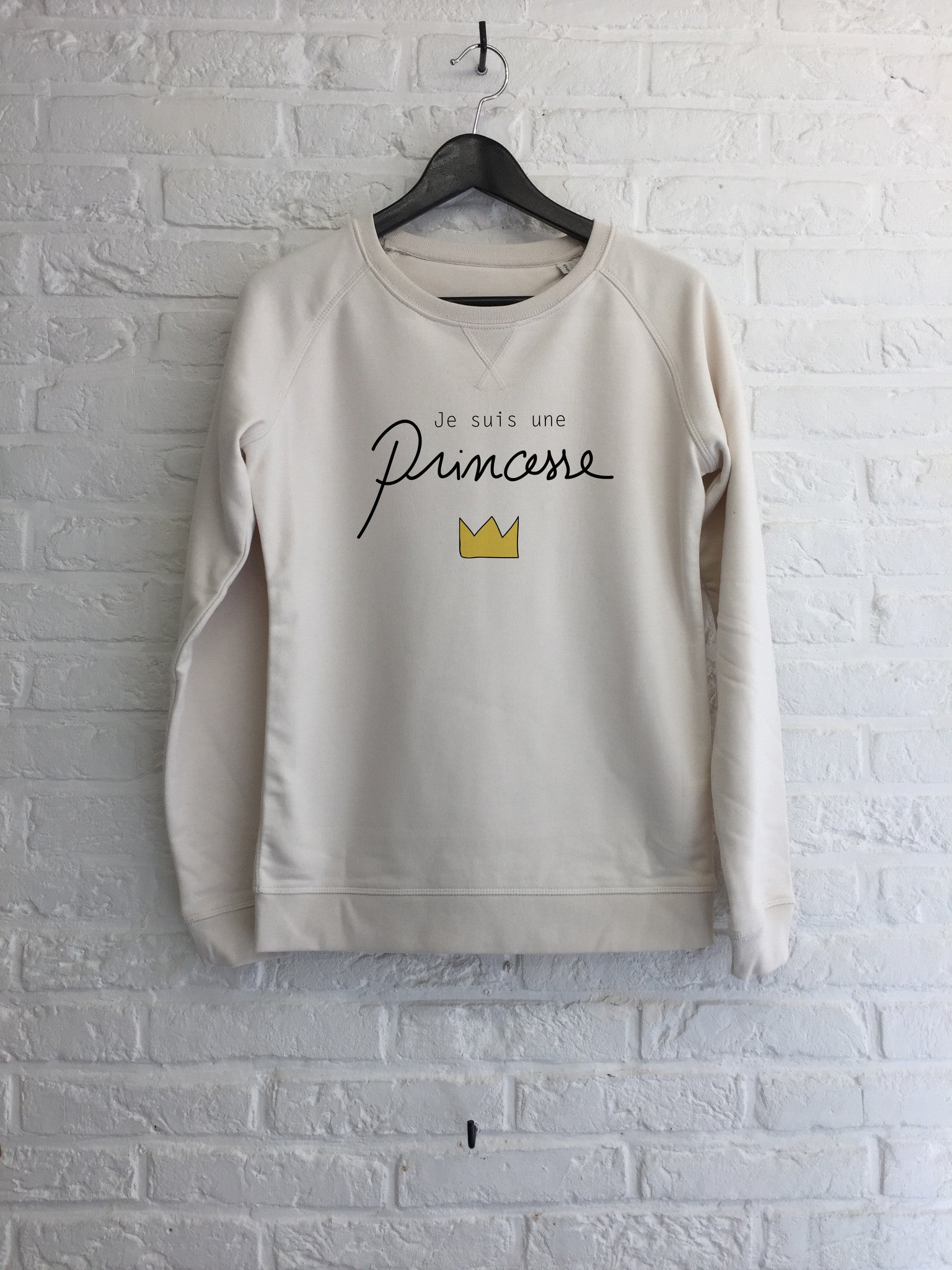 Je suis une Princesse - Sweat - Femme-Sweat shirts-Atelier Amelot