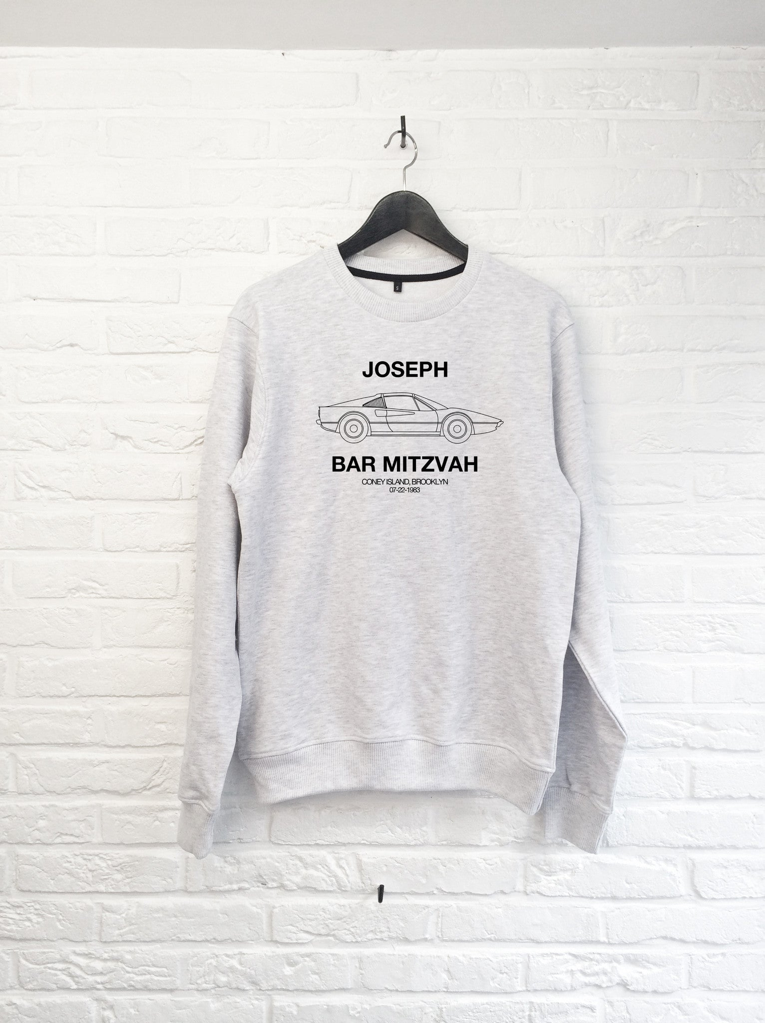 TH Gallery - Joseph Bar Mitzvah - Sweat-Sweat shirts-Atelier Amelot