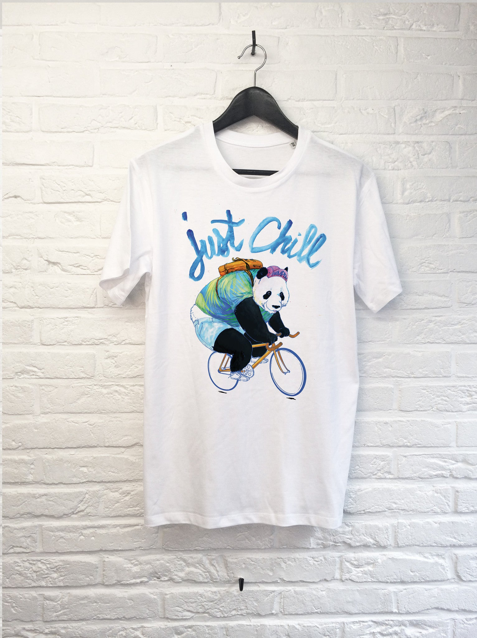 TH Gallery - Panda Just Chill-T shirt-Atelier Amelot