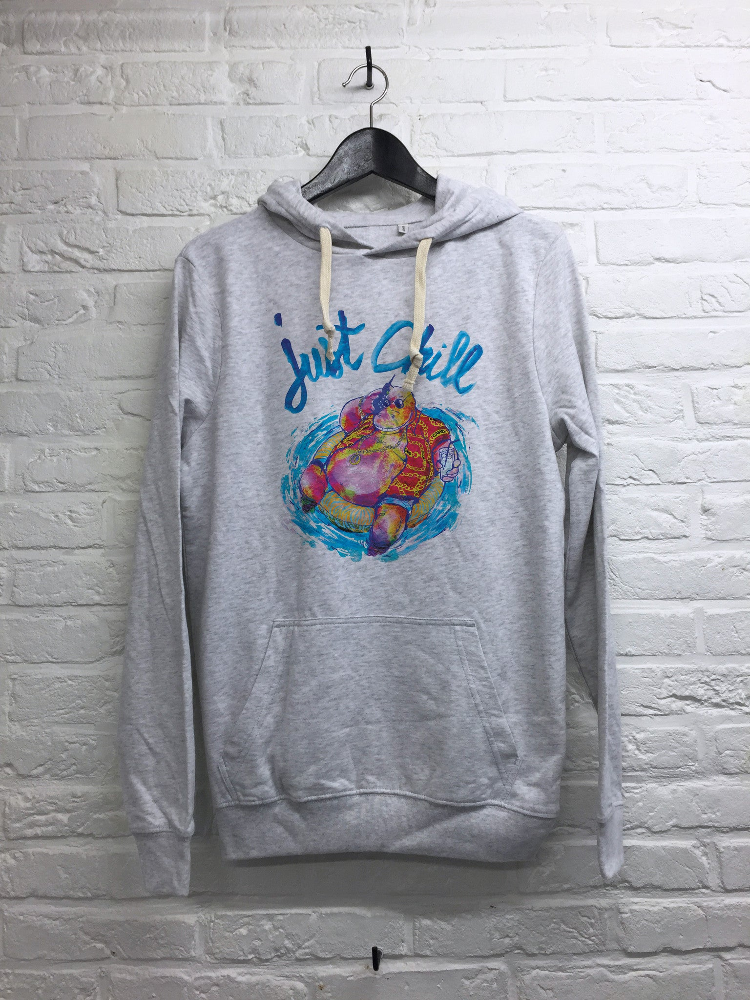TH Gallery - Hippo Just chill - Hoodie super soft touch-Sweat shirts-Atelier Amelot