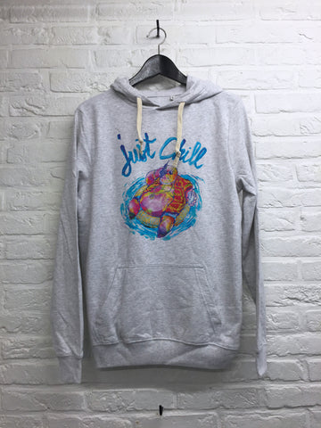 TH Gallery - Hippo Just chill - Hoodie super soft touch