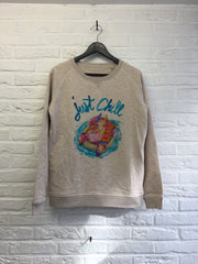 TH Gallery - Hippo Just Chill - Sweat - Femme-Sweat shirts-Atelier Amelot
