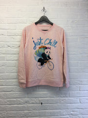 TH Gallery - Panda Just Chill - Sweat - Femme-Sweat shirts-Atelier Amelot