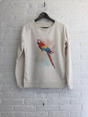 TH Gallery - Perroquet Just Chill - Sweat - Femme-Sweat shirts-Atelier Amelot