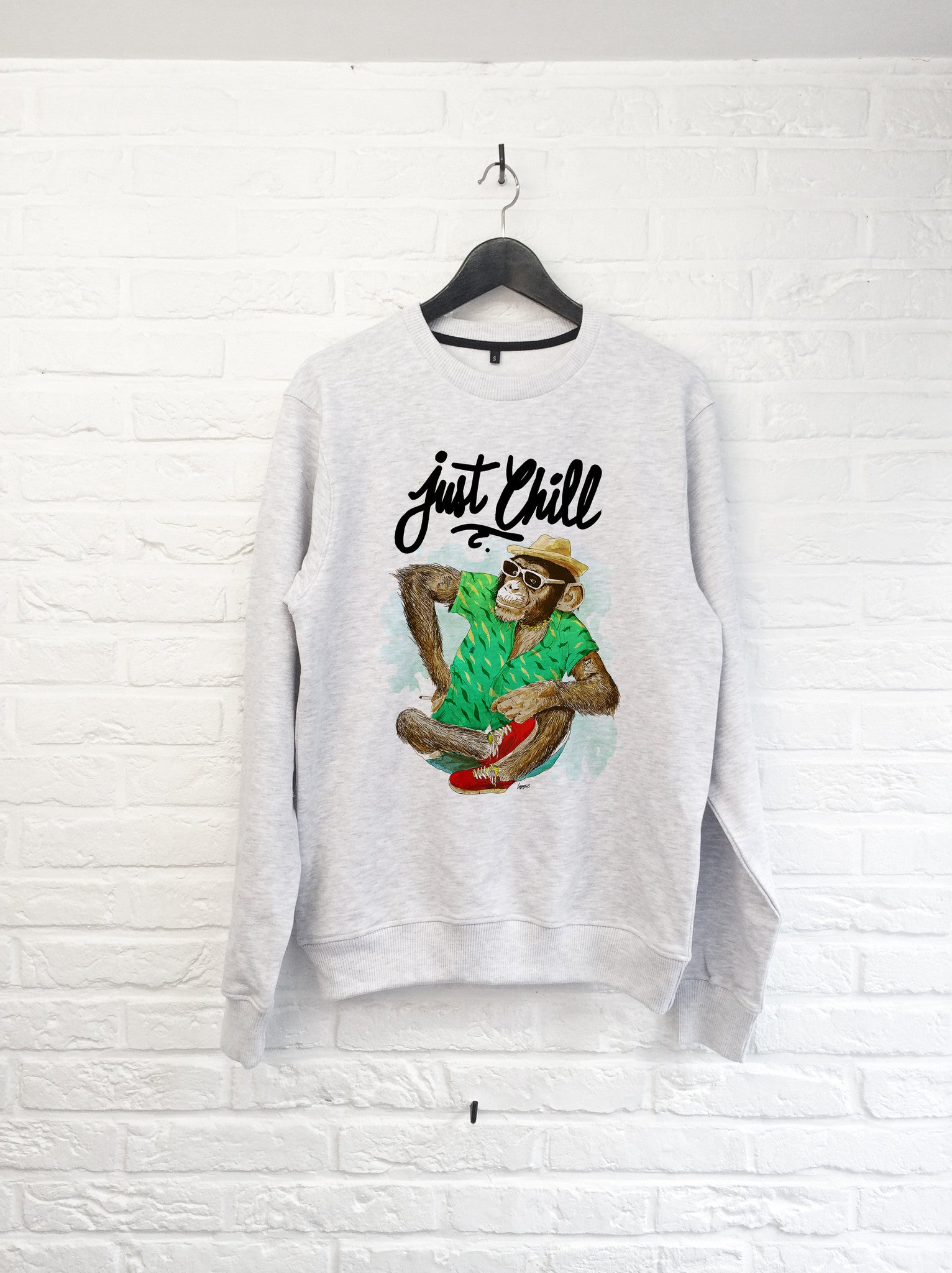 TH Gallery - Singe just chill - Sweat-Sweat shirts-Atelier Amelot