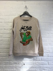 TH Gallery - Singe just chill - Sweat - Femme-Sweat shirts-Atelier Amelot