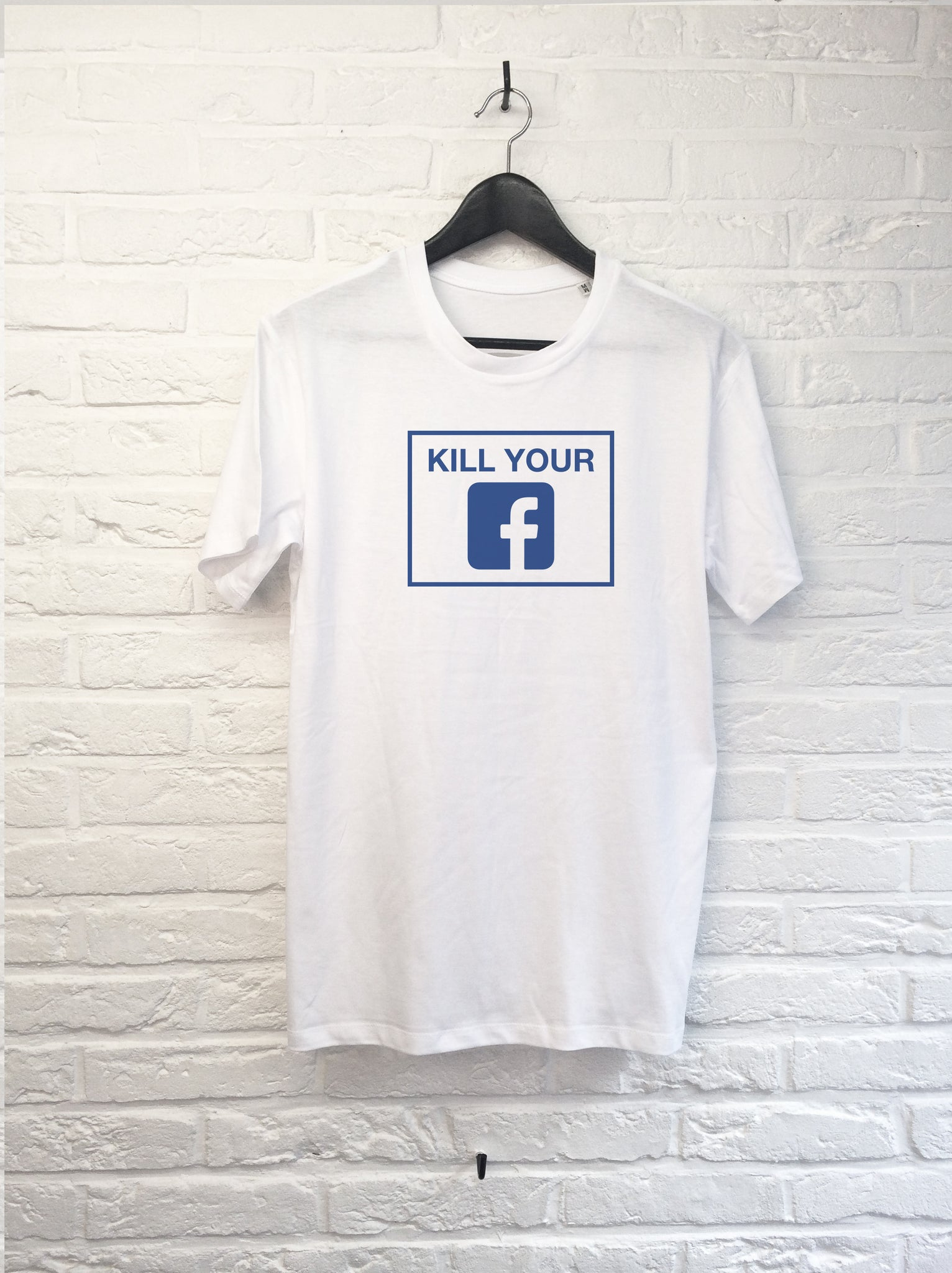 Kill your facebook-T shirt-Atelier Amelot