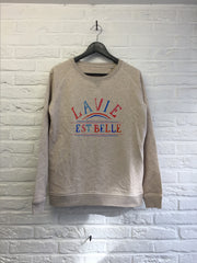 La vie est belle - Sweat - Femme-Sweat shirts-Atelier Amelot
