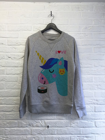 Love Licorne Sushi - Sweat Deluxe
