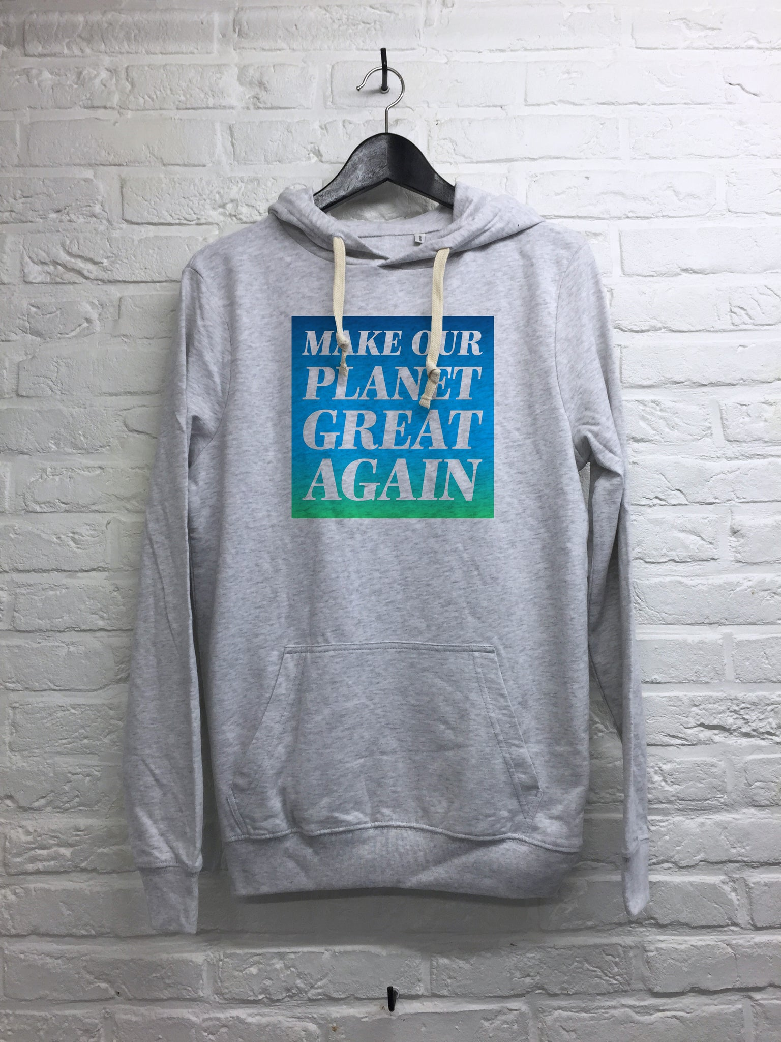 Make our planet great again - Hoodie super soft touch-Sweat shirts-Atelier Amelot