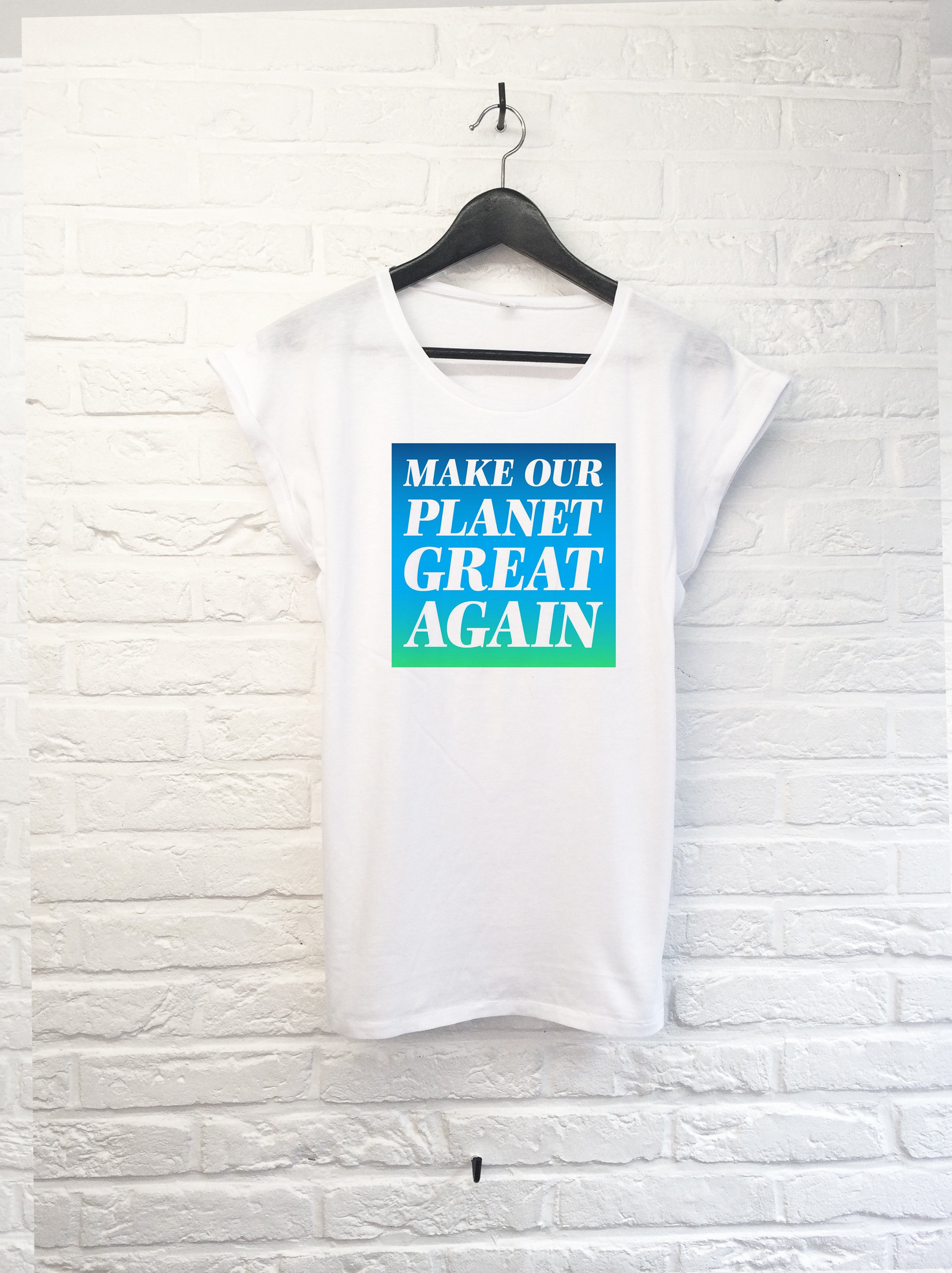 Make our planet great again - Femme-T shirt-Atelier Amelot