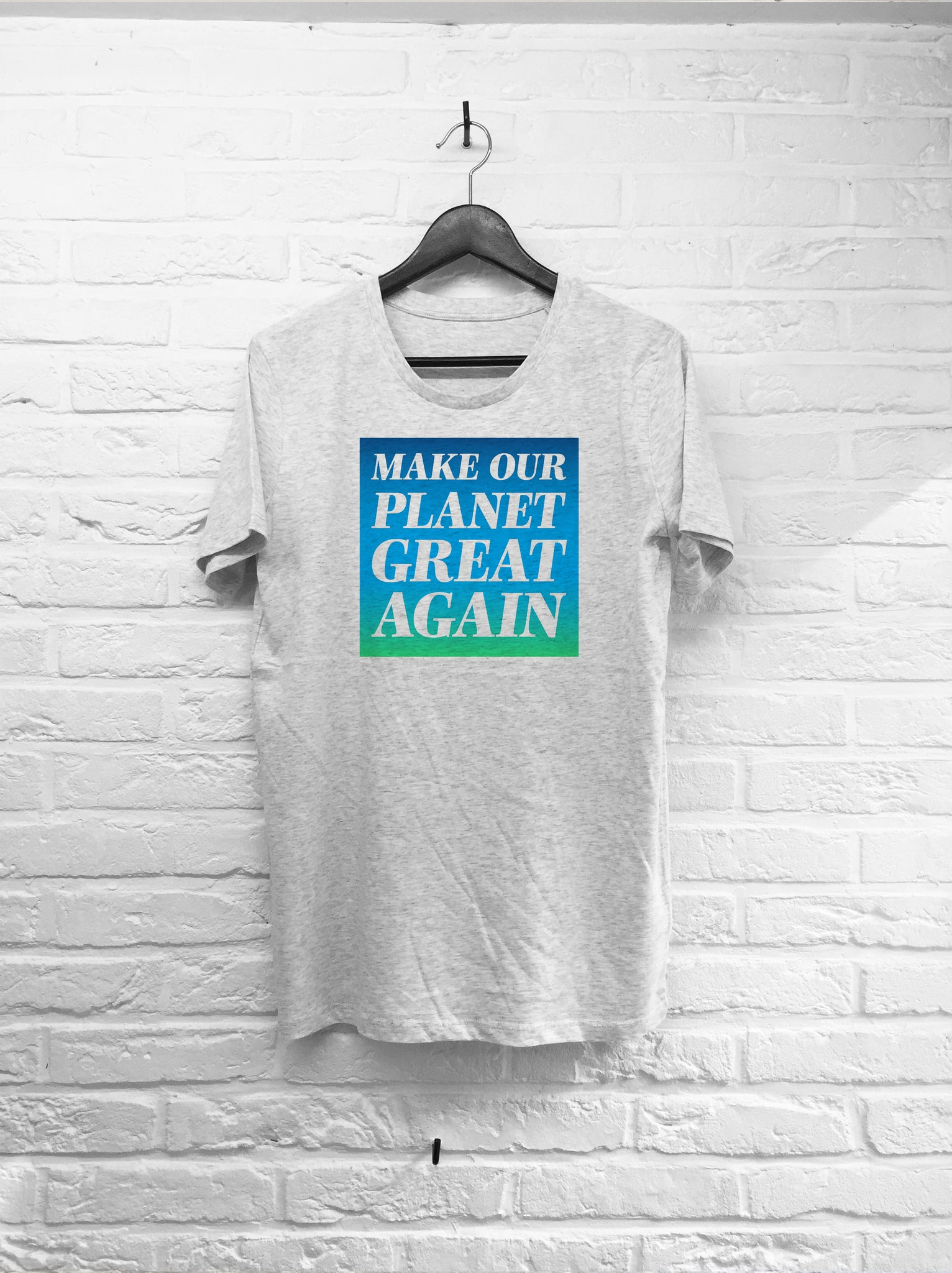 Make our planet great again-T shirt-Atelier Amelot
