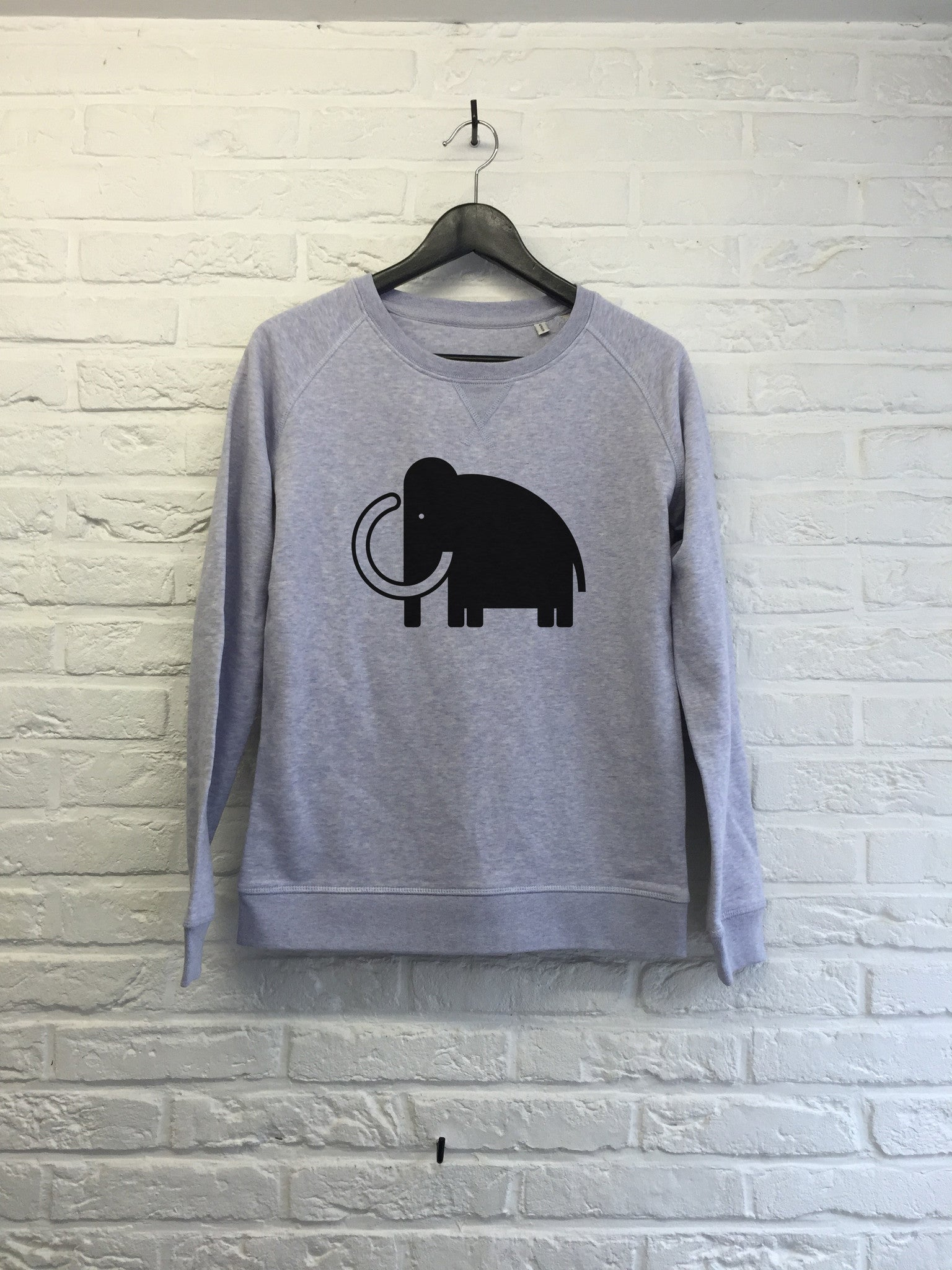 Old mamooth - Sweat - Femme-Sweat shirts-Atelier Amelot