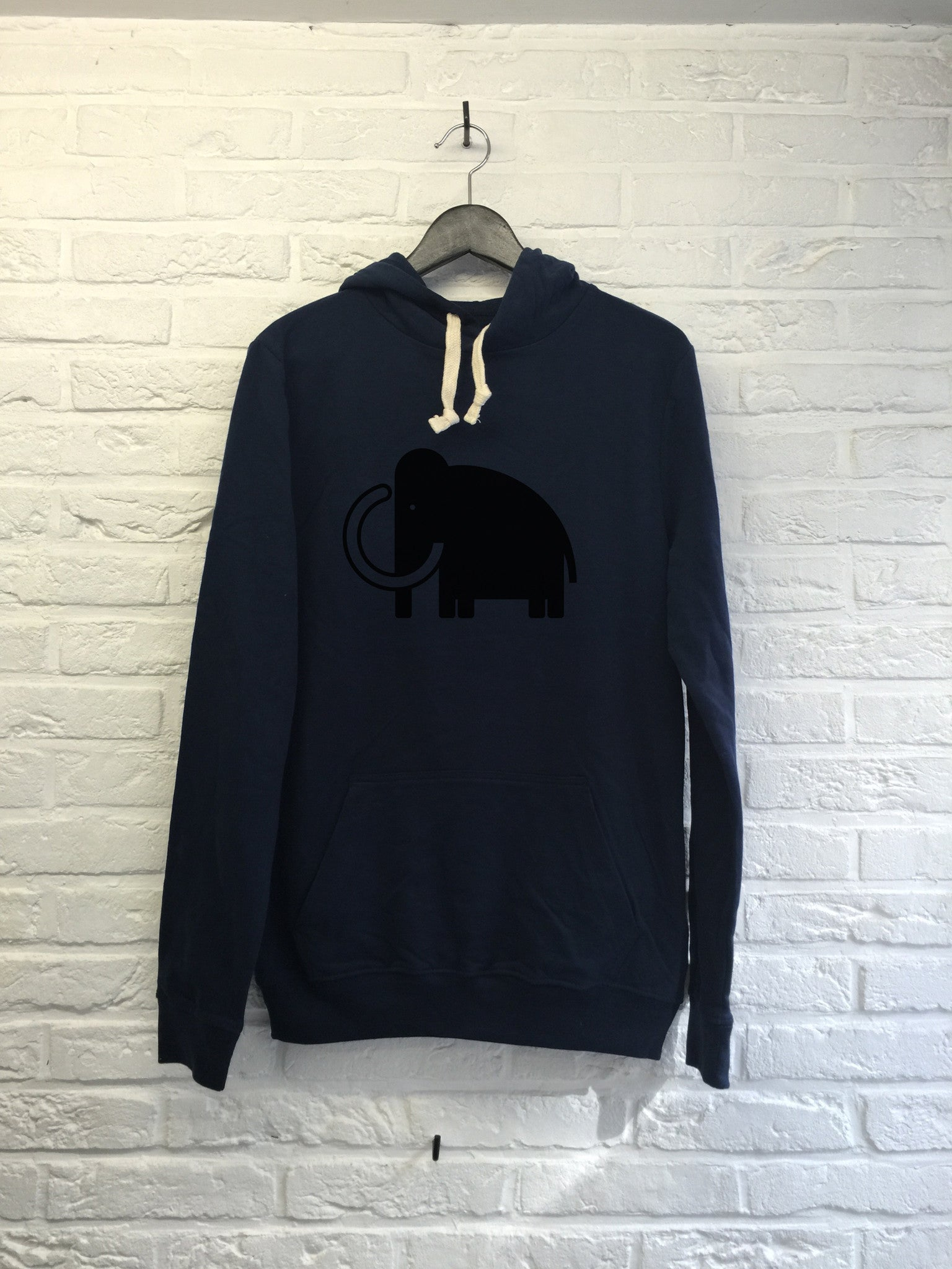 Old Mamooth - Hoodie super soft touch-Sweat shirts-Atelier Amelot