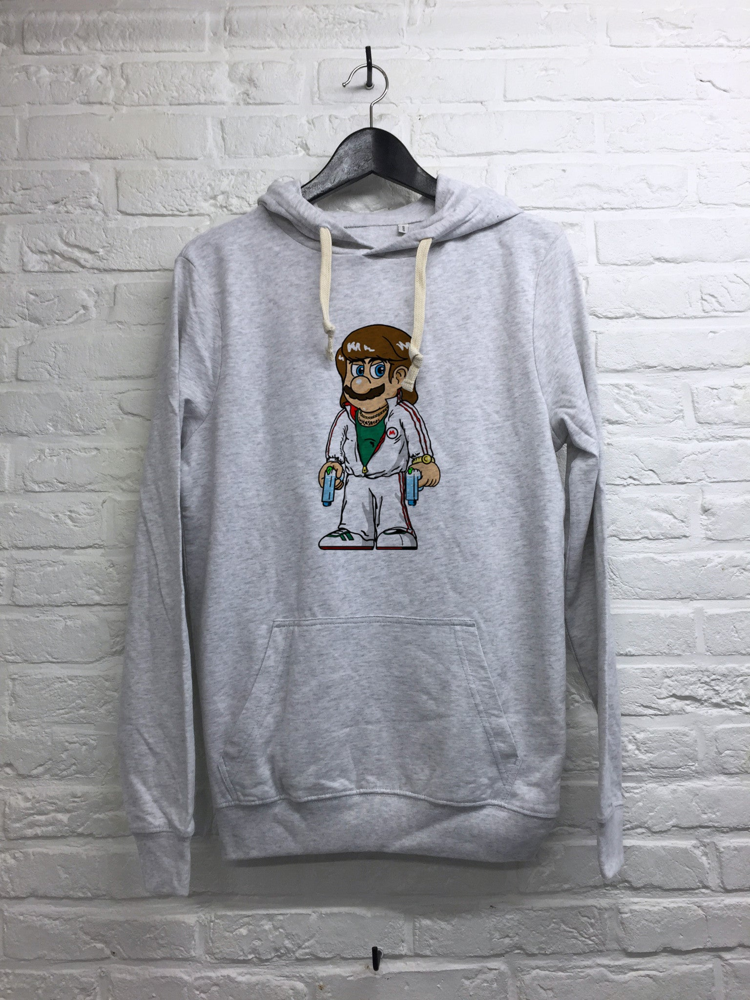 TH Gallery - Mario Bad Mafia - Hoodie super soft touch-Sweat shirts-Atelier Amelot