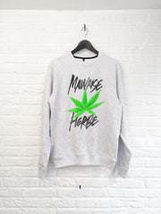 TH Gallery - Mauvaise herbe - Sweat-Sweat shirts-Atelier Amelot