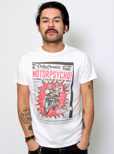 Motel Wives - Motorpsycho-T shirt-Atelier Amelot