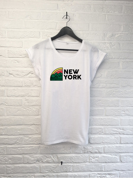 New York Rainbow - Femme-T shirt-Atelier Amelot
