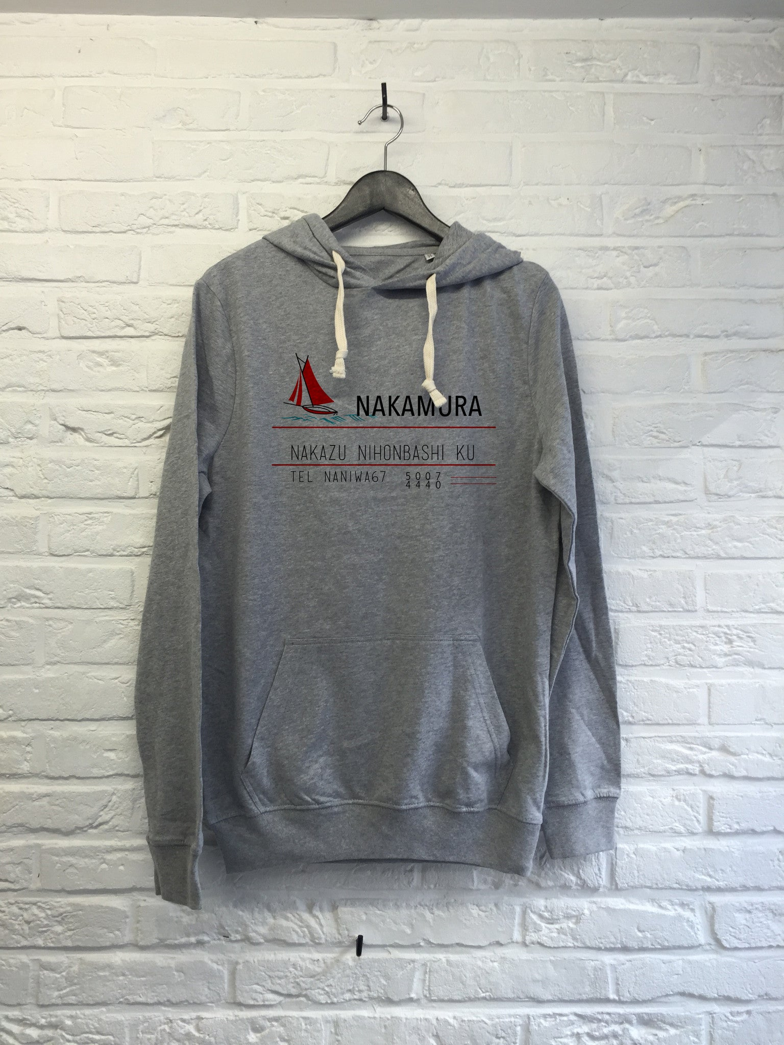 Nakamura - Hoodie super soft touch-Sweat shirts-Atelier Amelot