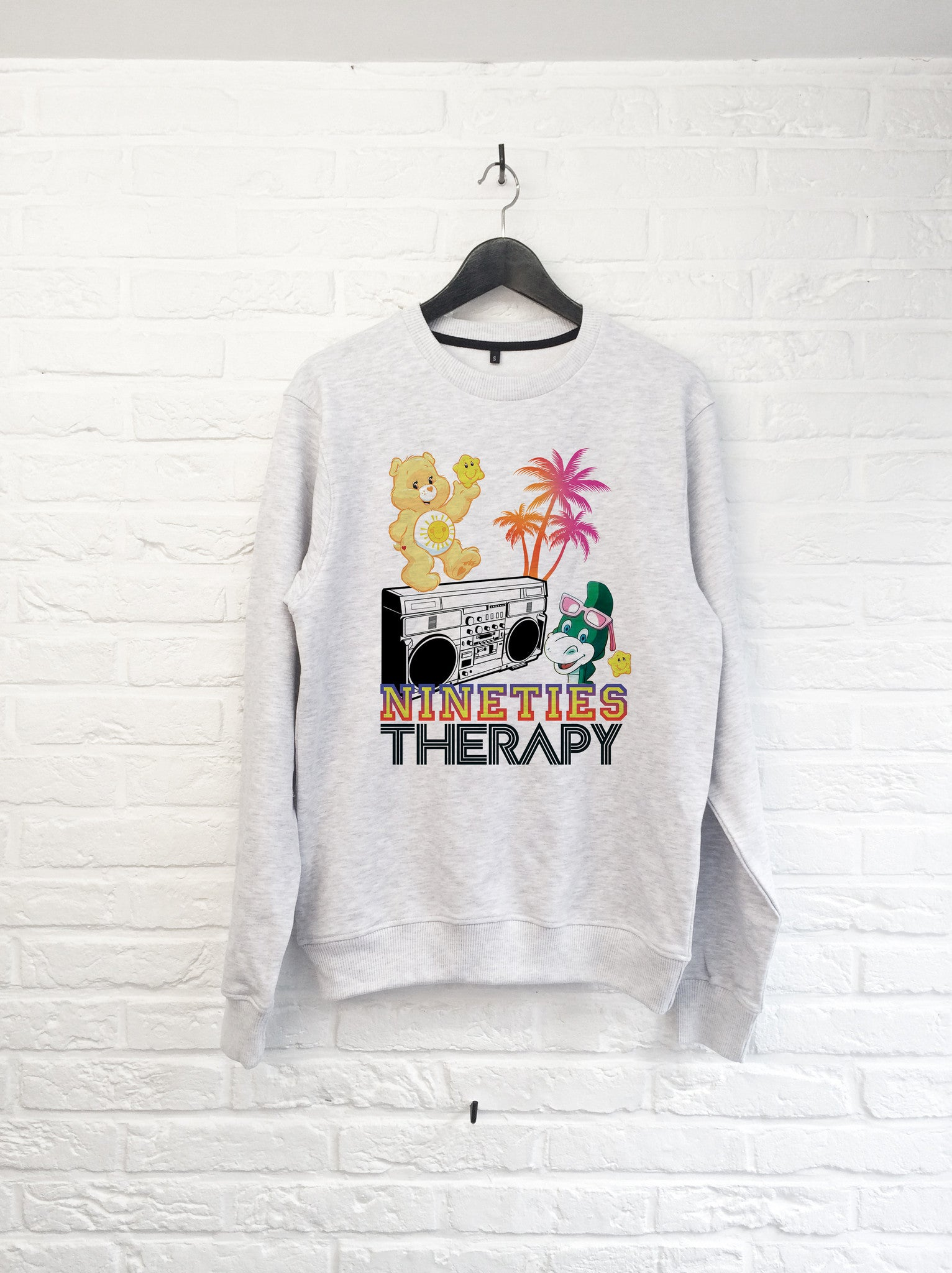 Nineties therapy - Sweat-Sweat shirts-Atelier Amelot