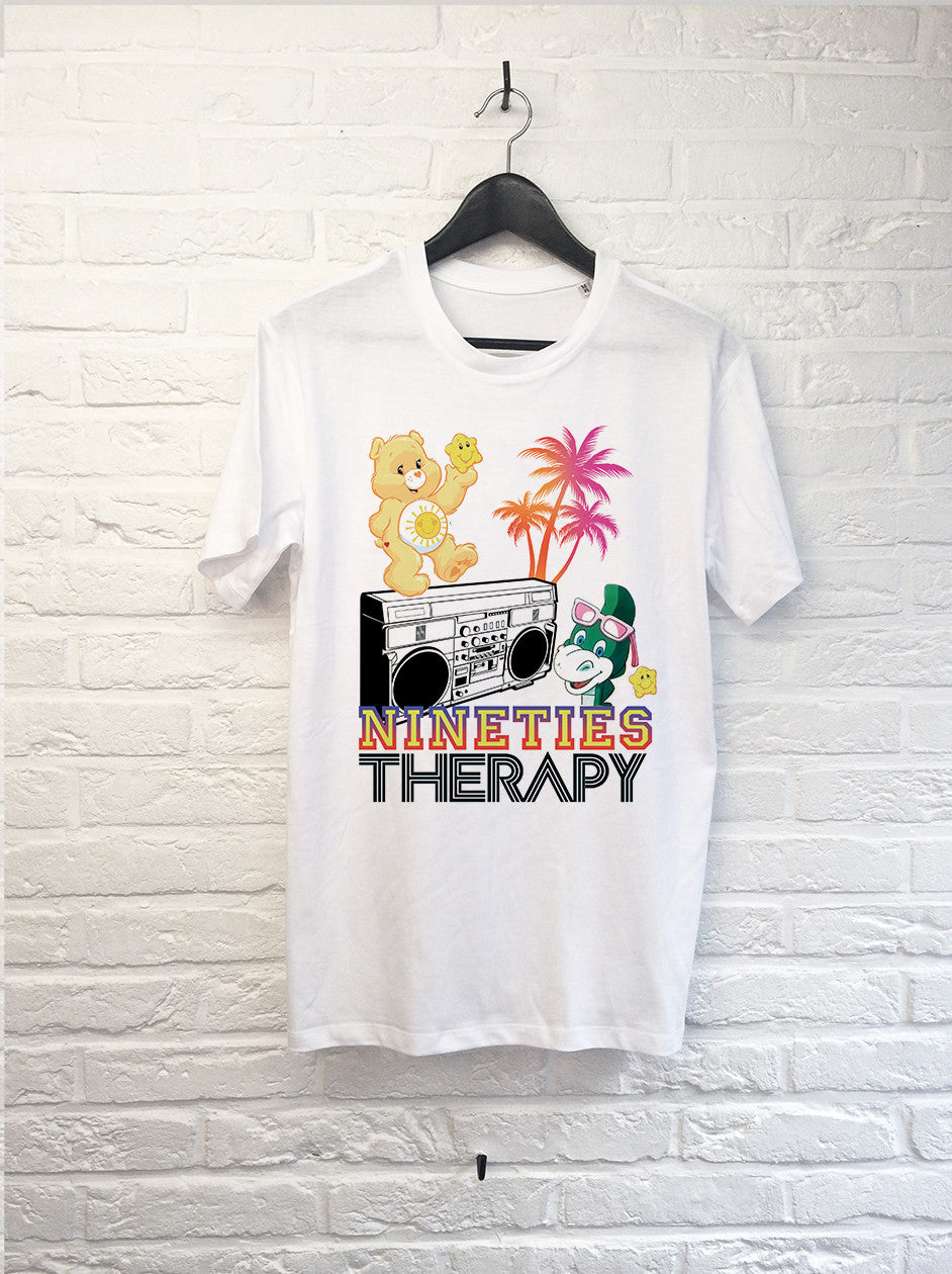 Nineties Therapy-T shirt-Atelier Amelot