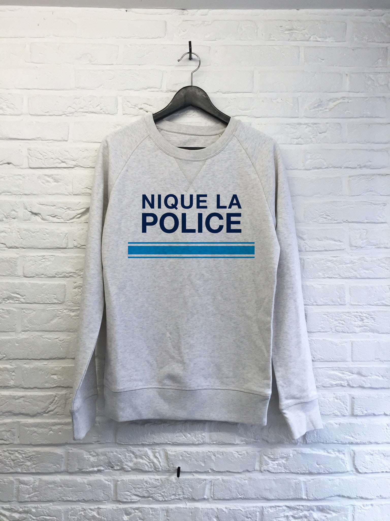 Police - Sweat Deluxe-Sweat shirts-Atelier Amelot