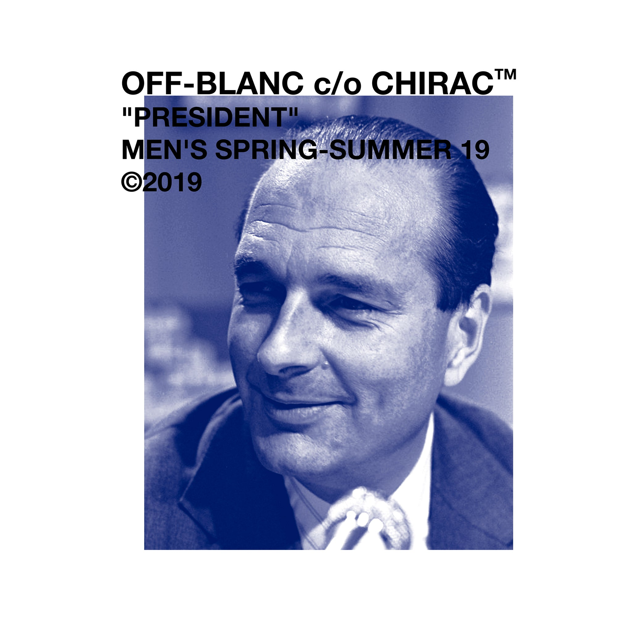 Off Chirac blue