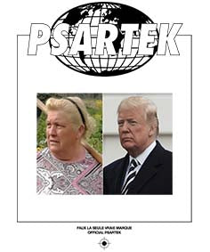 Official Psartek sosie Trump
